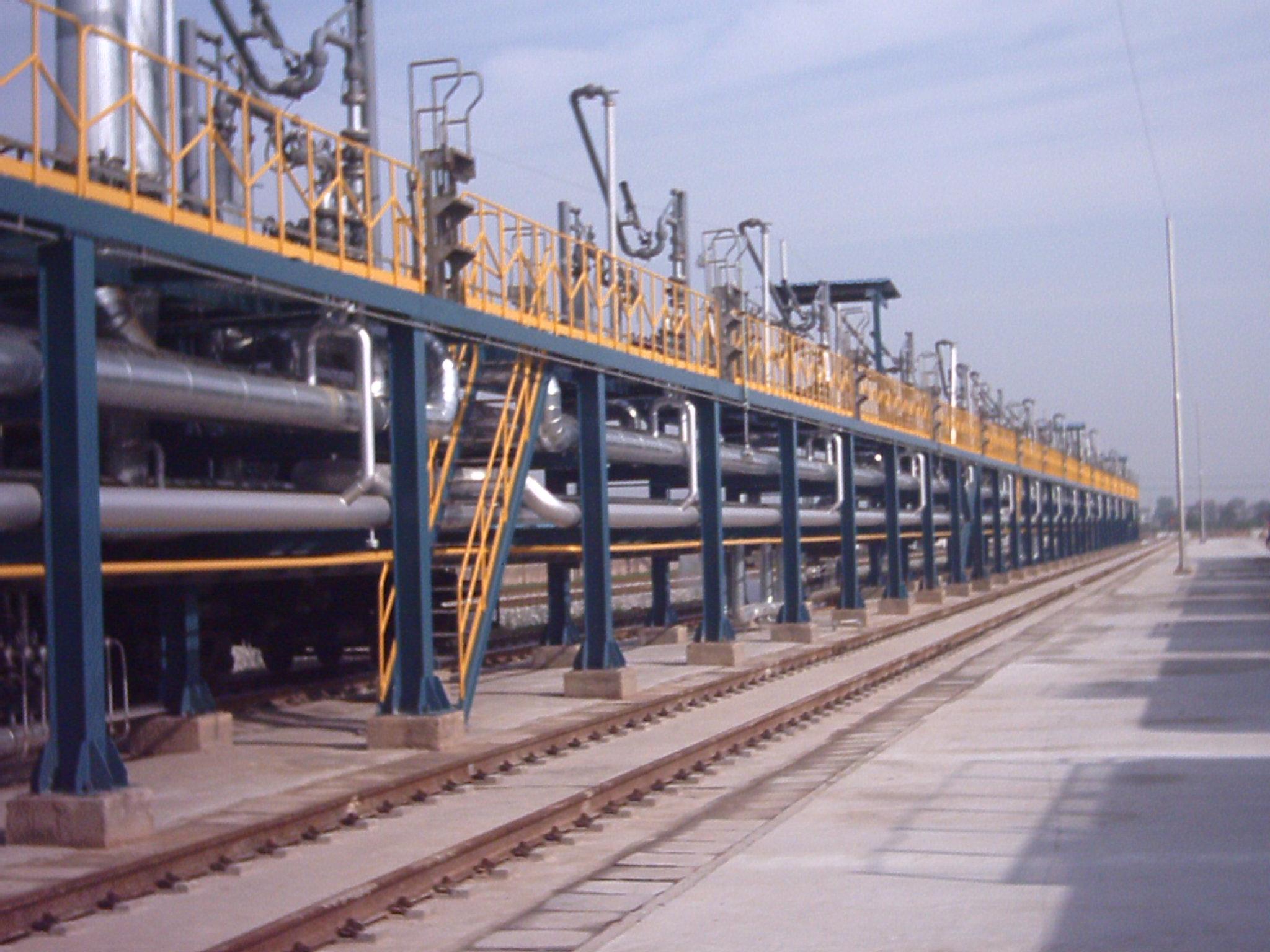 鋼結構裝卸平臺(棧橋)